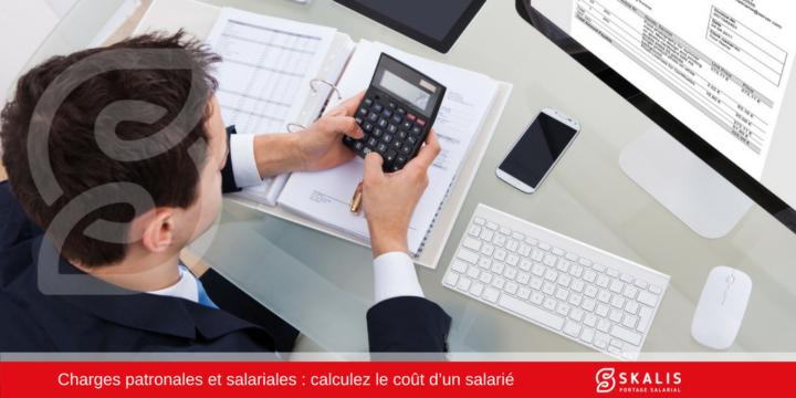 Charges patronales et salariales - Coût d'un salarié