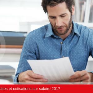 Taux salarial 2017