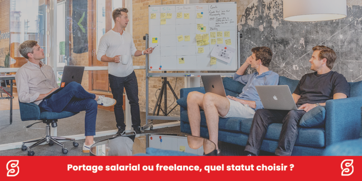 Portage salarial ou freelance, quel statut choisir ?